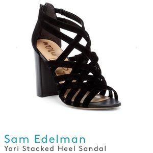🆕 Sam Edelman Yori Stacked Heel Sandal